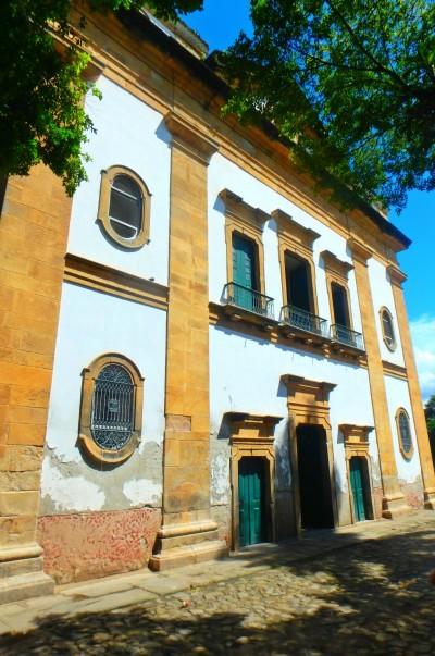 Paraty - Colonnial church